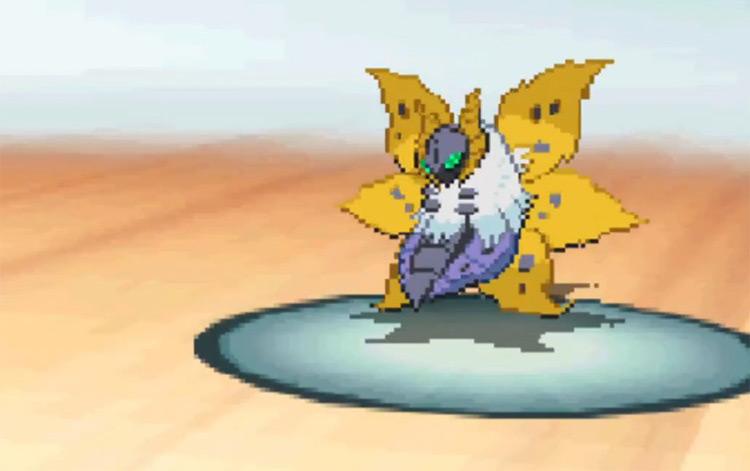 Shiny Volcarona Gen V Pokémon