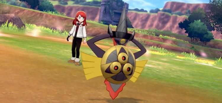 Shiny Aegislash from Pokémon Sword