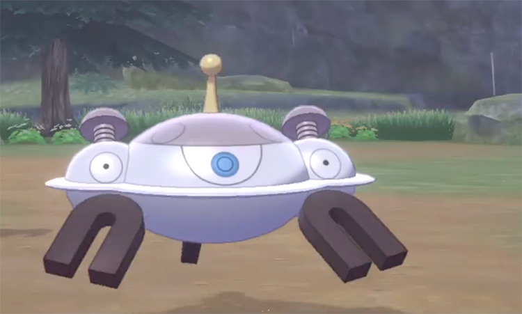 Shiny Magnezone from Pokémon Sword and Shield