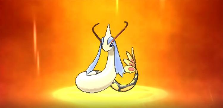 Shiny Milotic in Pokémon ORAS