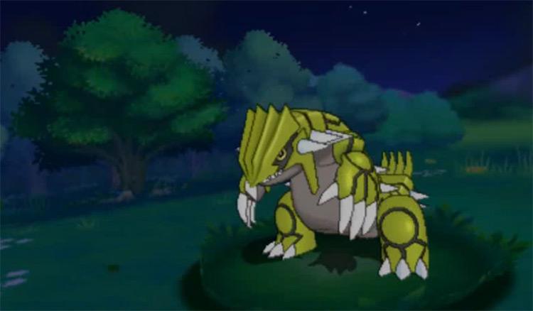 Gen III Shiny Groudon Pokémon ORAS