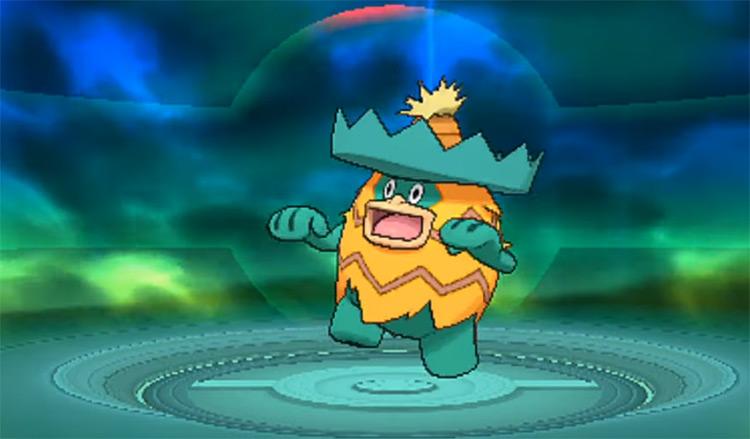 Shiny Ludicolo in Pokémon ORAS