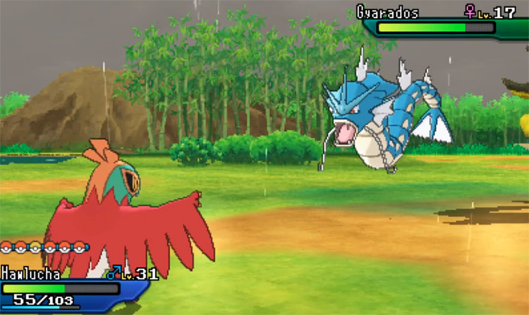 Moxie in Pokémon USUM Hidden Ability