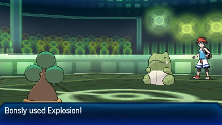 Sturdy in Pokémon Sun and Moon