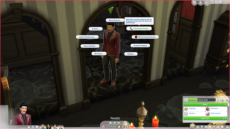 Cleaning Frenzy For All Mod for The Sims 4