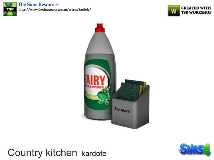 Country Kitchen Liquid Soap Sims 4 CC