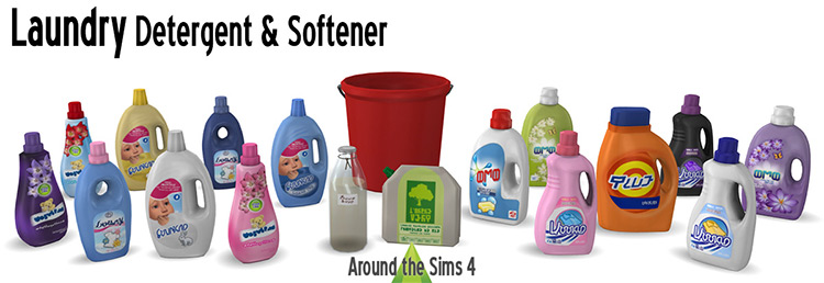 Laundry Detergent and Softener TS4 CC