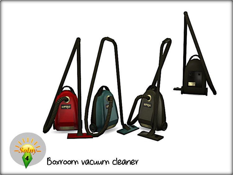 Boxroom Vacuum Cleaner for Sims 4