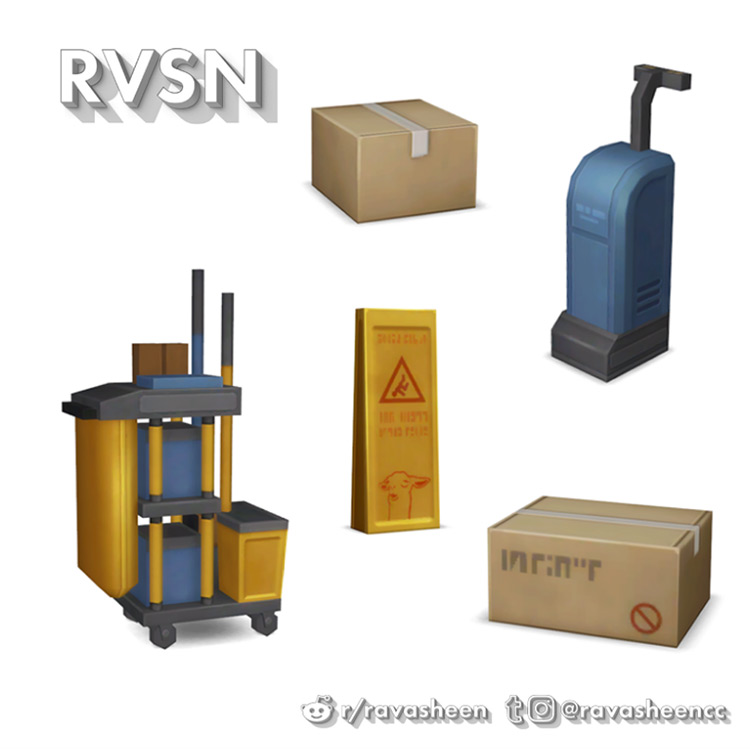 Supplies Party for Sims 4