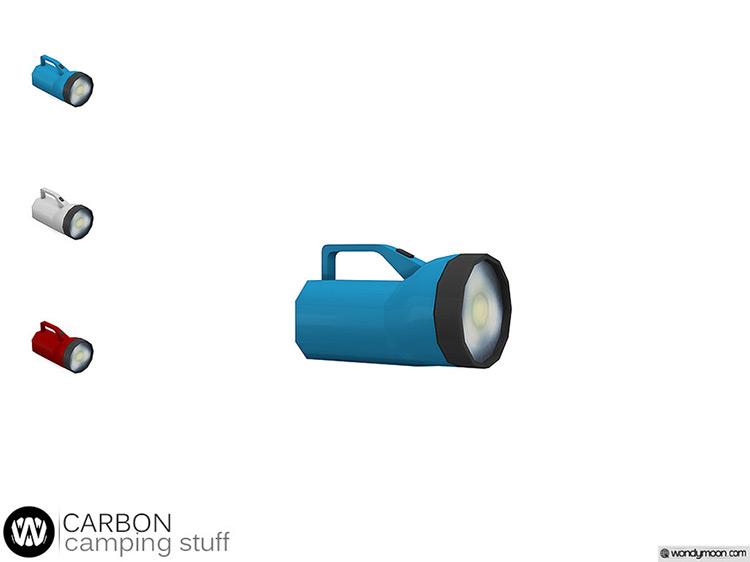 Carbon Flashlight / Sims 4 CC