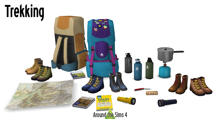 Trekking Pack for The Sims 4