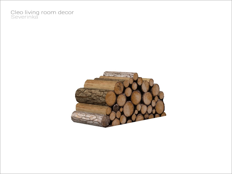 Wood Pile for Sims 4