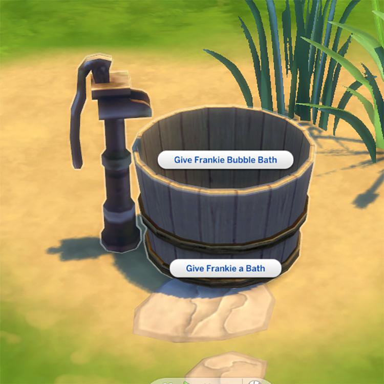 Toddler Washtub / Sims 4 CC