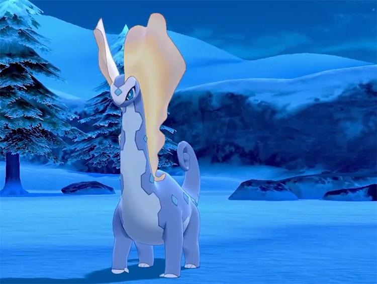 Aurorus in Pokémon Sword and Shield