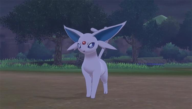 Espeon in Pokémon Sword and Shield