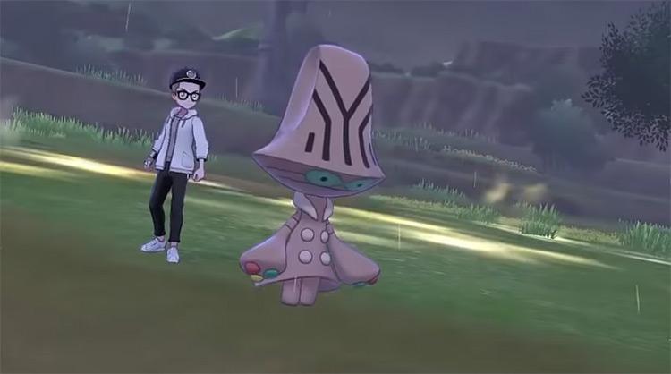 Beheeyem Pokémon SWSH battle