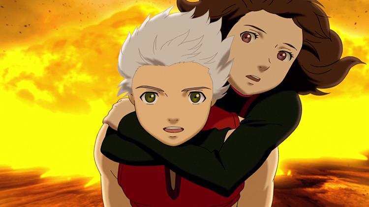 Origin: Spirits of the Past anime