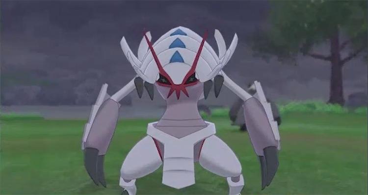 Shiny Golisopod from Pokémon Sword and Shield