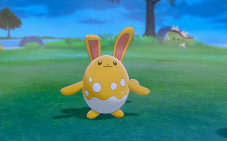 Shiny Azumarill from Pokémon SWSH