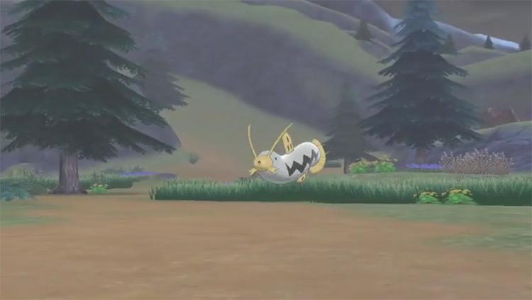 Shiny Barboach from Pokémon SWSH