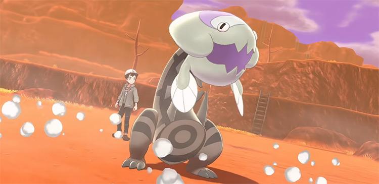Shiny Water-Type Dracovish Pokémon