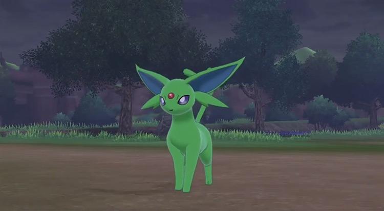 Shiny Espeon from Pokémon SWSH