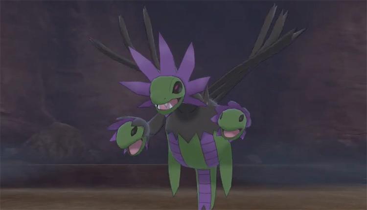 Shiny Hydreigon in Pokémon SWSH