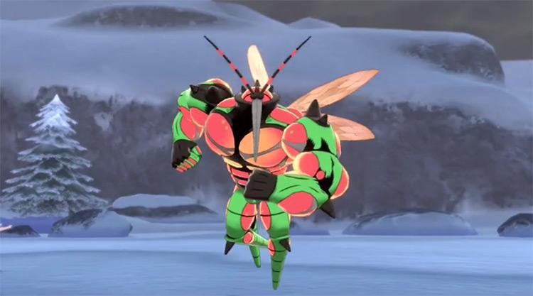 Shiny Buzzwole in Pokémon SWSH