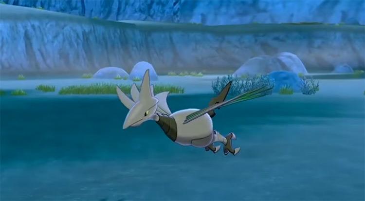 Shiny Skarmory from Pokémon SWSH