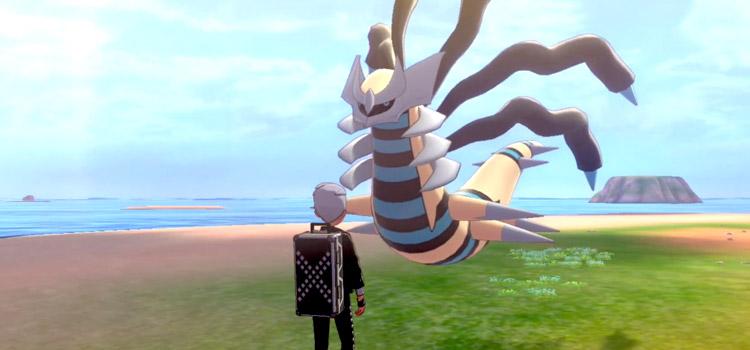 Shiny Giratina from Pokémon Sword & Shield