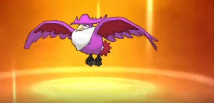 Shiny Honchkrow in Pokémon Sun and Moon