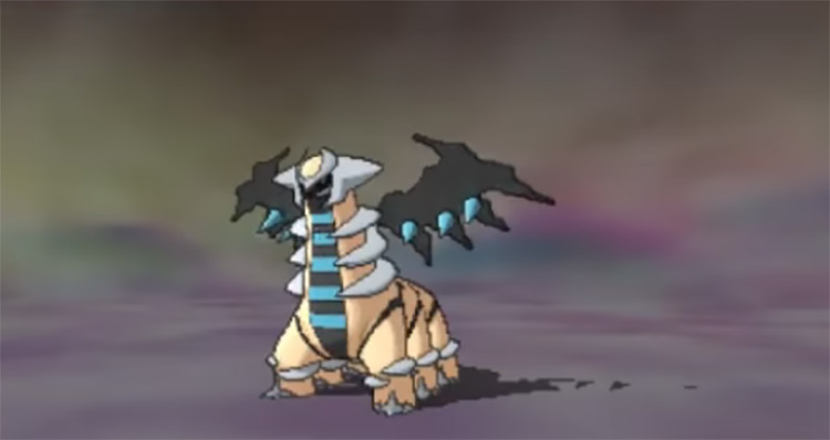Shiny Giratina in Pokémon Omega Ruby and Alpha Sapphire