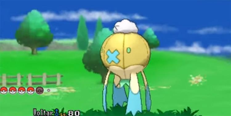 Shiny Drifblim from Pokémon X and Y