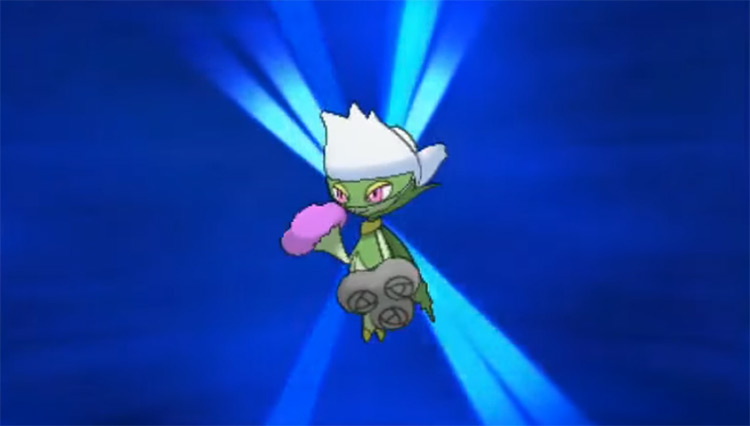 Shiny Roserade in Pokémon X and Y
