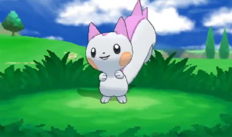 Shiny Pachirisu from Pokémon X and Y