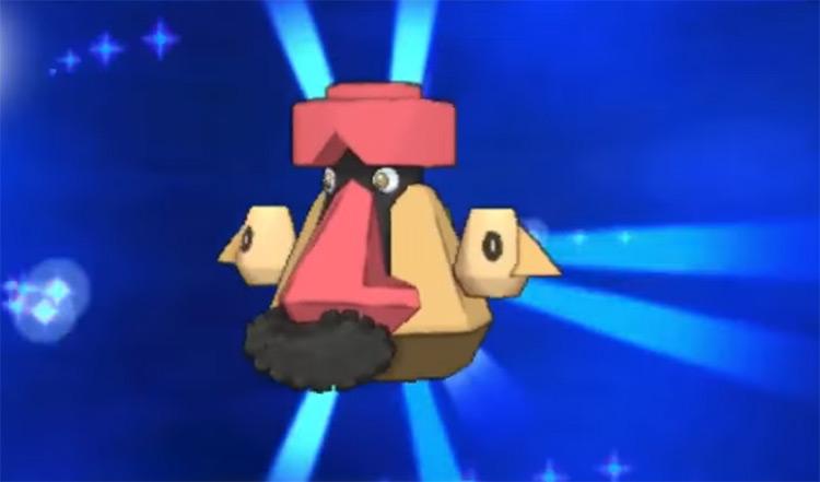 Shiny Probopass in Pokémon X and Y