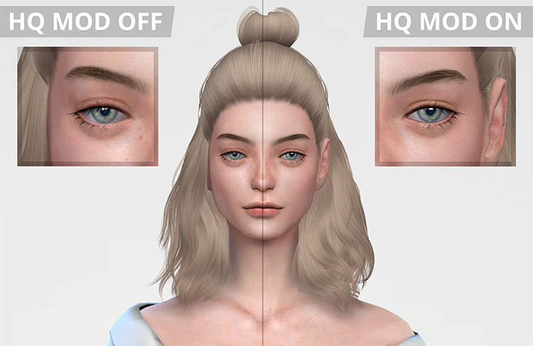 HQ Mod screenshot for Sims4