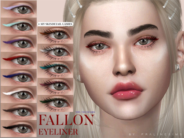 PralineSims' Eyebrows and Make-Up Sims4