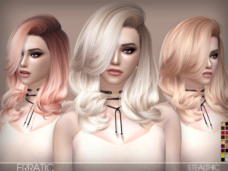 Stealthic's Hair Mods Sims4
