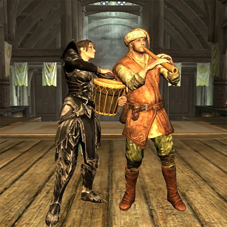 Playable Instruments – Play and Bash Skyrim mod
