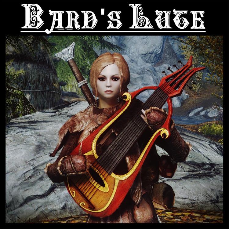 Bard's Lute< Skyrim mod