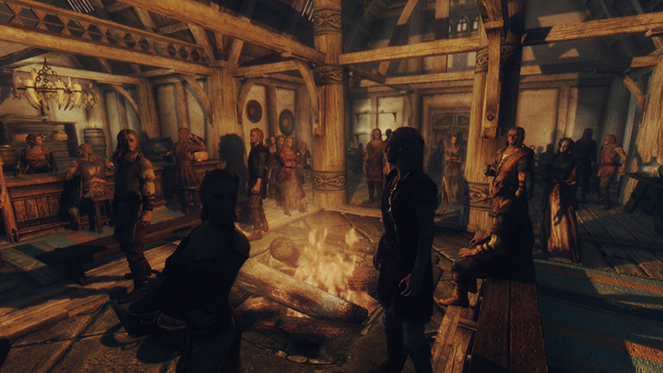 Lively Inns and Taverns Skyrim mod