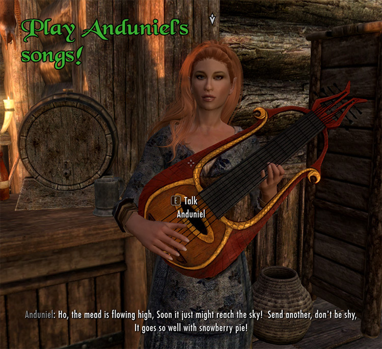 Become a Bard Song Expansion Skyrim mod