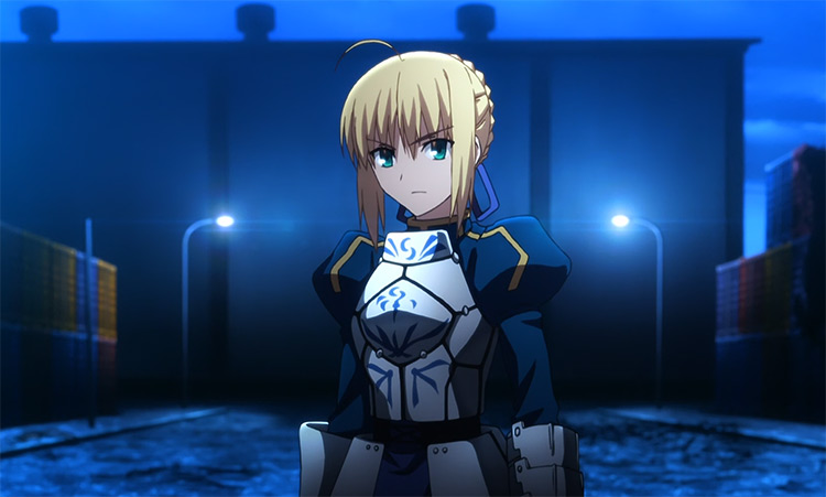 Saber in Fate/stay night anime