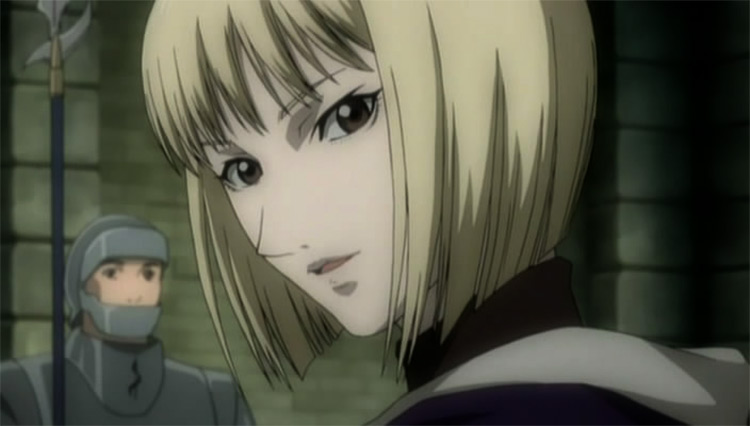 Clare in Claymore anime