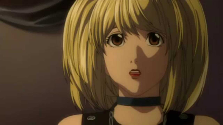 Misa Amane in Death Note anime
