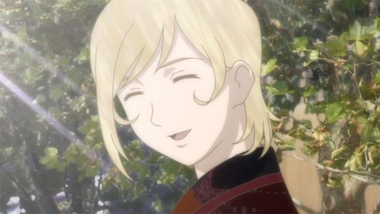 Eugenie Danglars in Gankutsuou: The Count of Monte Cristo anime