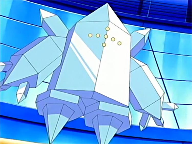 Regice in Pokemon Anime