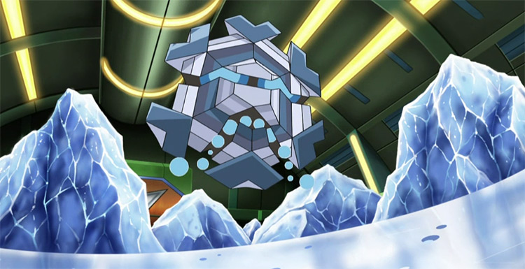 Cryogonal in Pokemon Anime