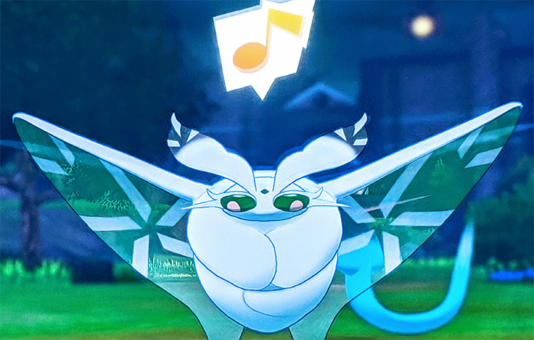 Frosmoth in Pokemon Sword and Shield game